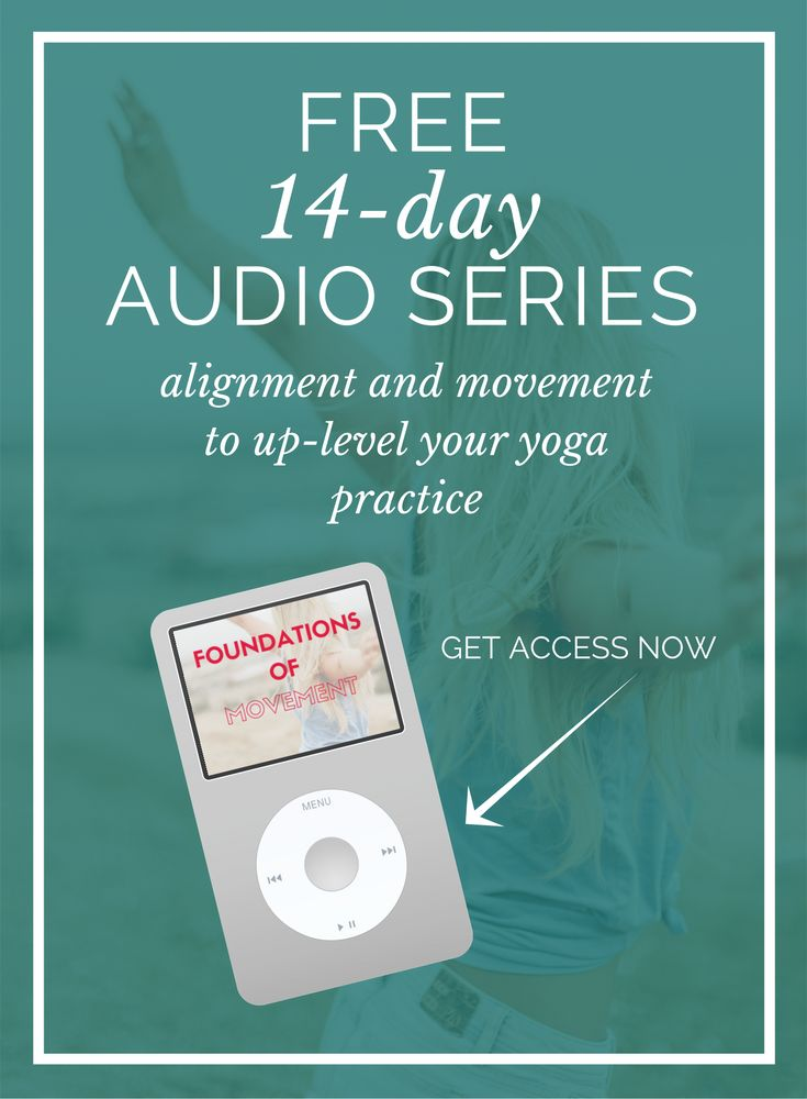 a great resource for learning about your alignment and advancing your yoga pract...