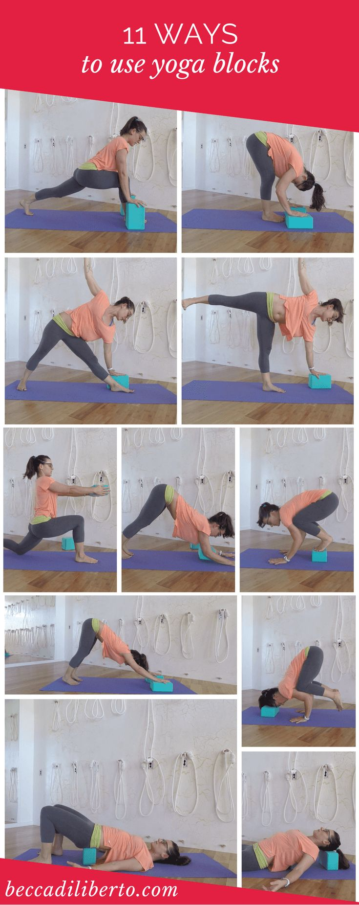 learn how to use yoga blocks to customize your yoga practice | click to watch th...