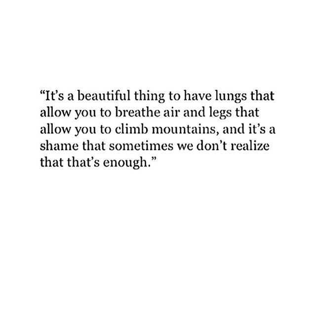 ✅✅it's a beautiful thing to have lungs that allow you to breathe air and...