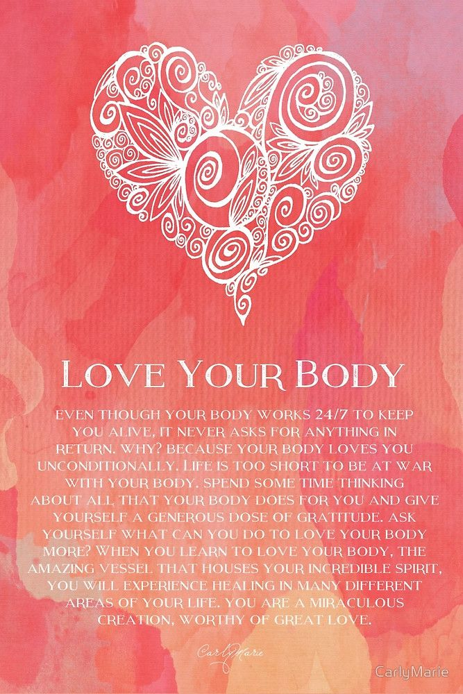 Love Your Body by CarlyMarie