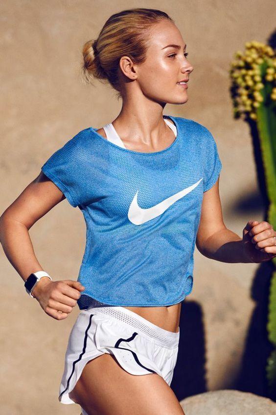 ♡ Women's Nike Running Workout Clothes | Yoga Tops | Sports Bra | Yoga Pan...