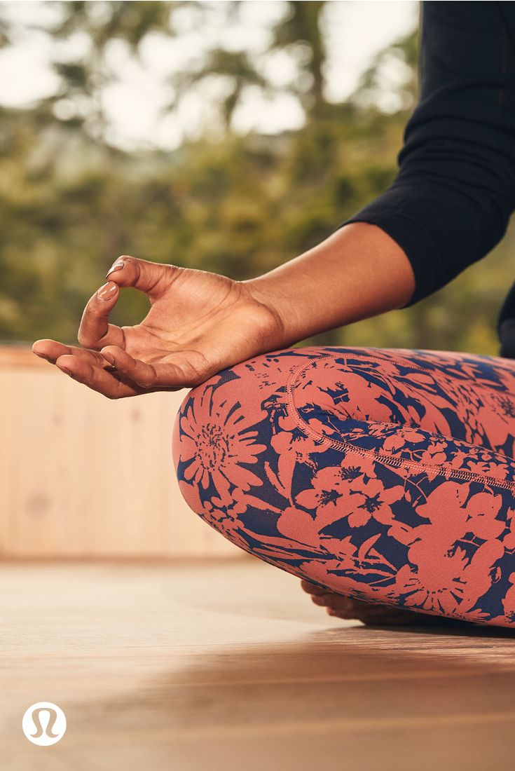 Get grounded & in touch with your breath. | lululemon
