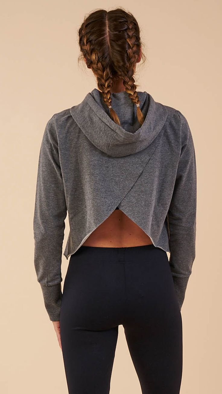 Incredibly soft and undeniably comfortable, the Cross Back Hoodie is one of a ki...