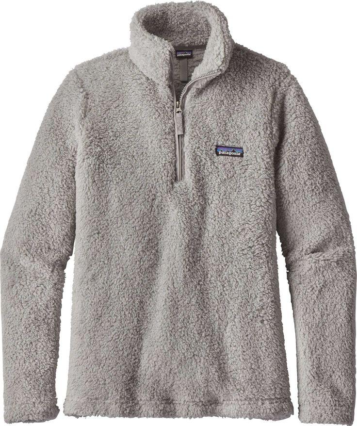Patagonia Women's Los Gatos Quarter Zip Fleece Pullover, Drifter Grey