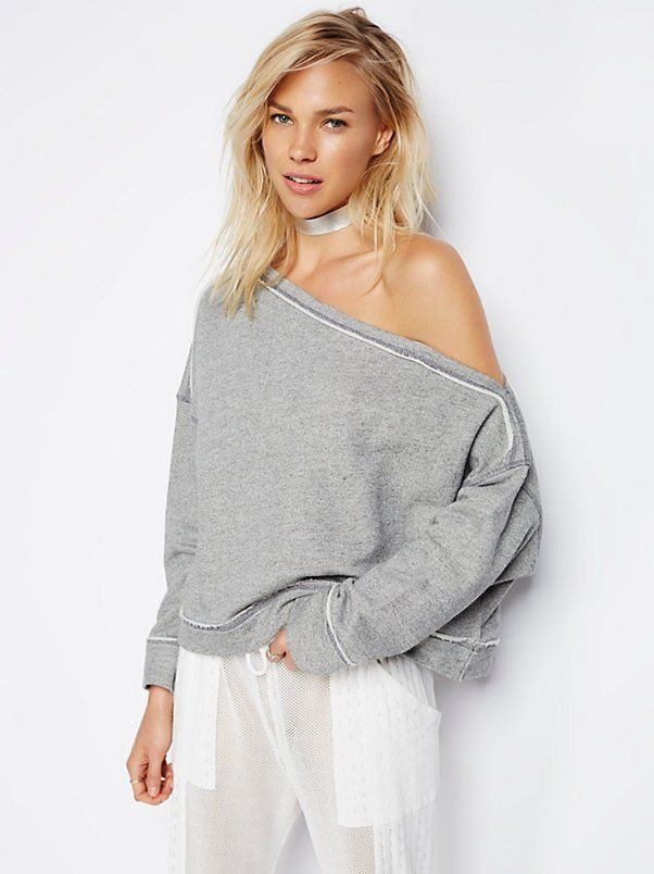 Surf Shack Pullover | Super comfy cotton-blend sweatshirt featuring an oversized...