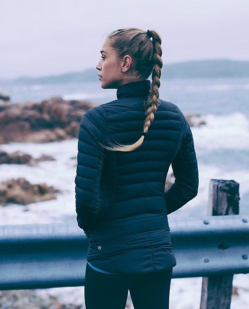 lululemon fluffed up jacket | fluffed up | Fluff Off Jacket. It looks so comfy |...