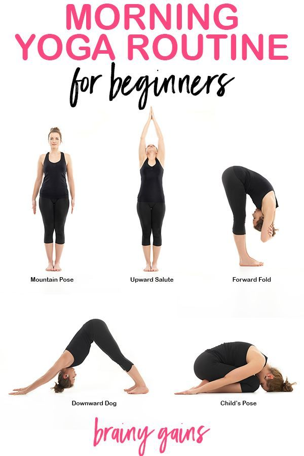 Add this morning yoga sequence to your morning routine and you'll start every ...