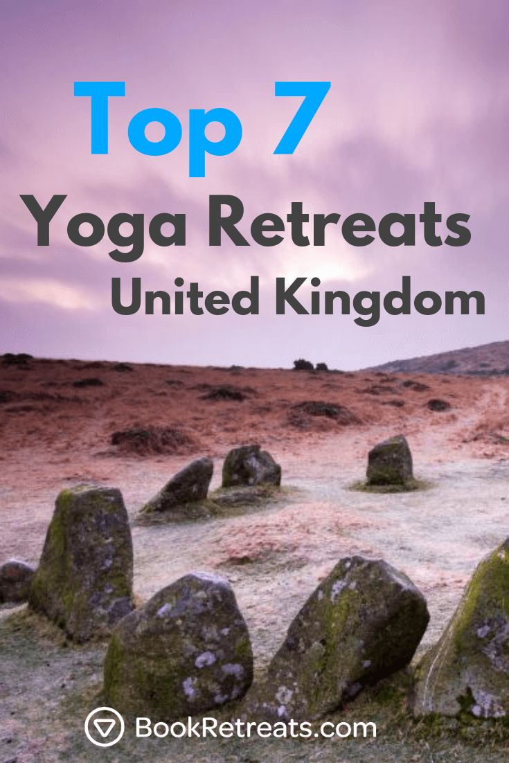 Here are the top 7 best yoga retreats to book in the United Kingdom in 2018!