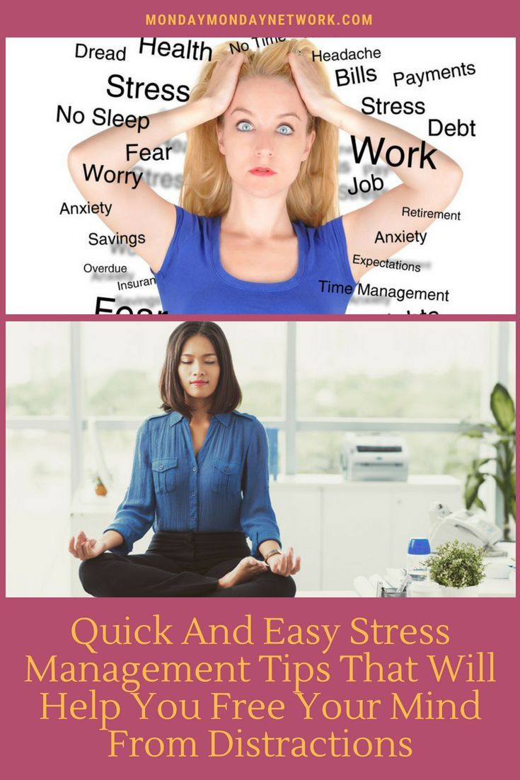 Stress is prevalent and you must learn how to manage it. Here are some quick and...