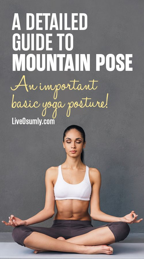 Tadasana is the key to all standing poses and has innumerable benefits. Here is ...