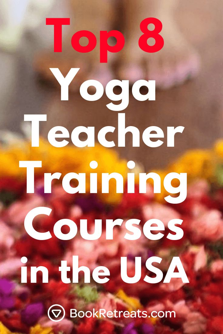 We're serving up the best Yoga Teacher Training programs in the United State...
