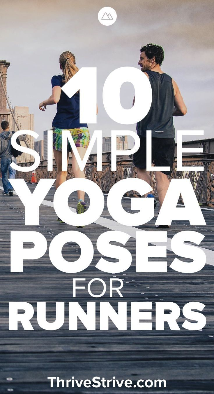 Yoga is great for anybody but especially for runners. These yoga poses target th...