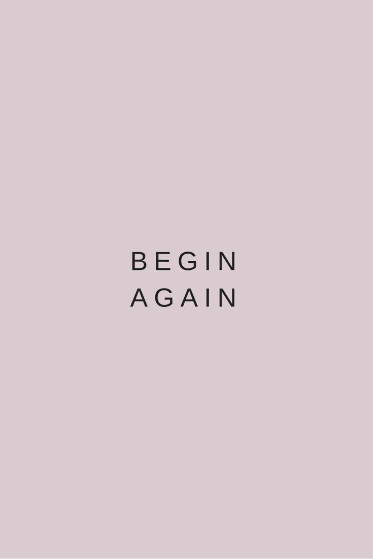 You get the opportunity to begin your life again each morning. Nothing that happ...