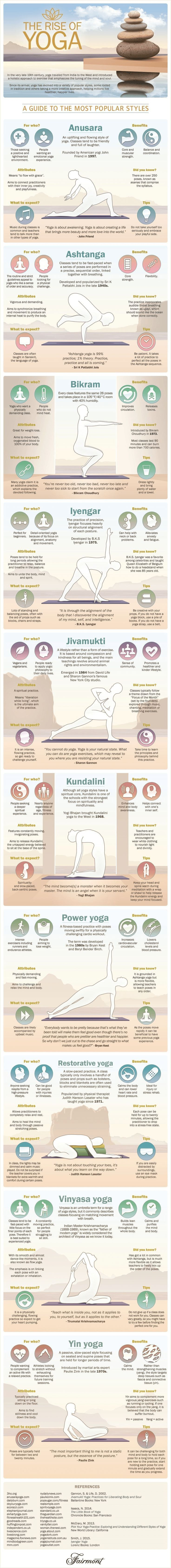 Yoga got your head spinning? A quick guide to which type might be your perfect m...