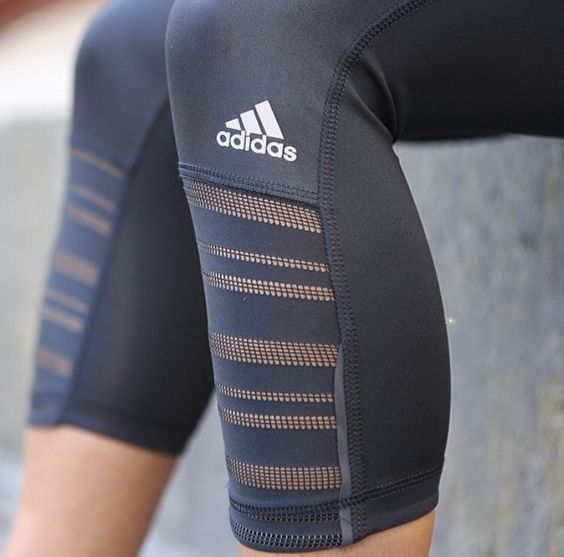 Adidas Crops | Nice Running Tights for Women Fitness Apparel for Women | Cute Sp...