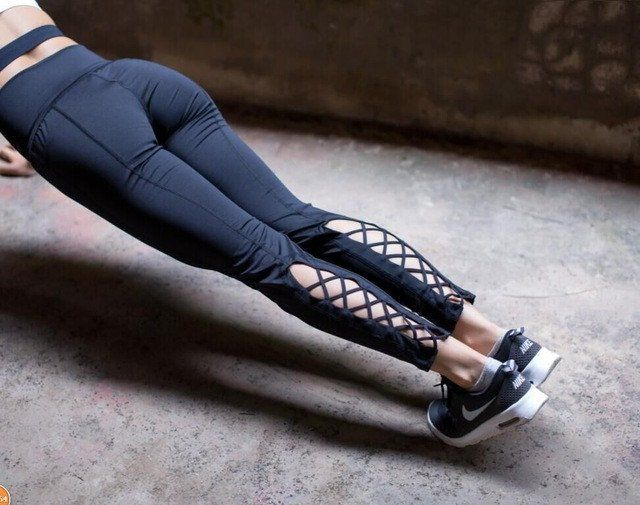 Criss Cross Yoga Leggings