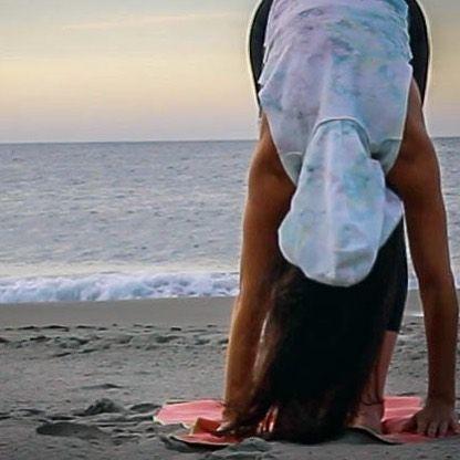 #yoga #healthy #fitness #freepeople #fpmovement #sunrise #beach #nature #love #l...