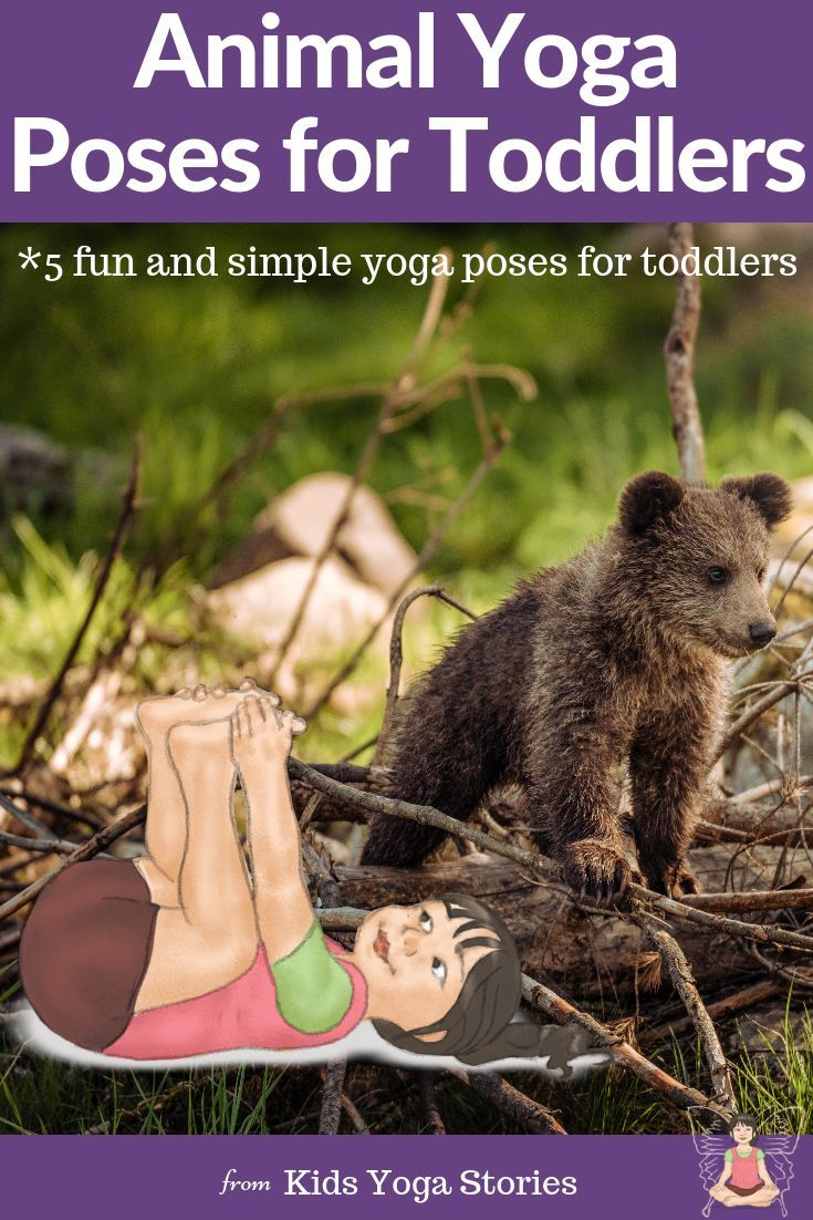 5 Animal Poses for Toddlers!   Animals are a wonderful way to introduce toddlers...