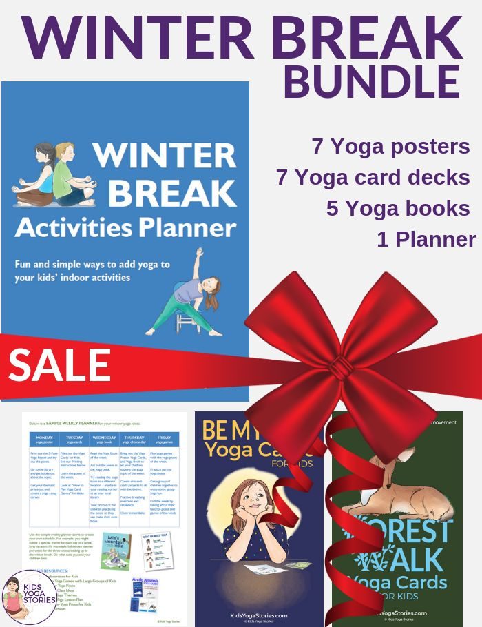 Are you ready for the Winter Break???  Winter Activities for Kids. Yoga books, y...