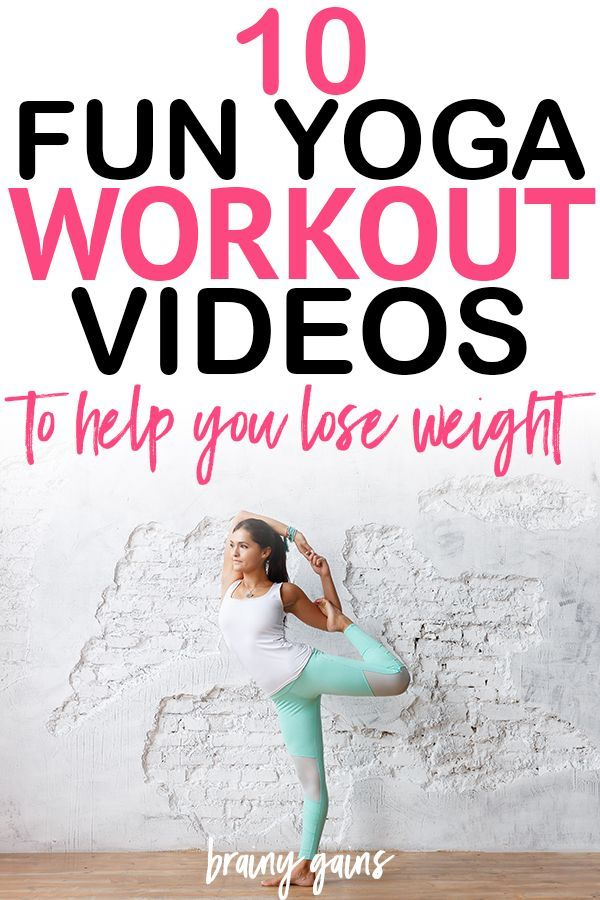 10 Fat Blasting Yoga Workout Videos to lose weight, gain strength, and improve f...