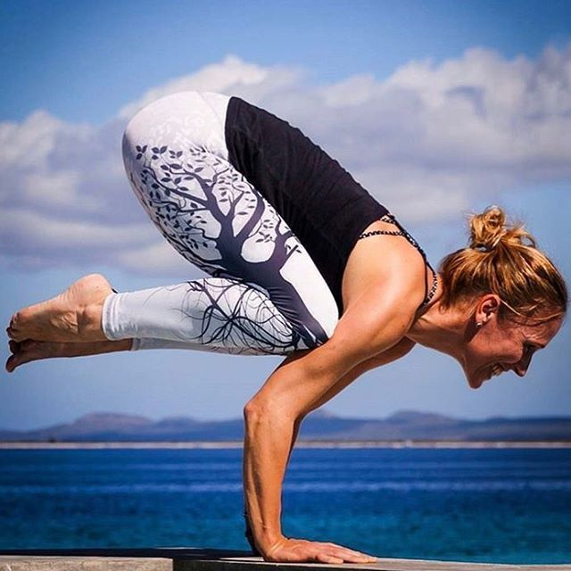 Women's Yoga Leggings Mandala Mint Print Fitness High Elasticity Legins Spor...