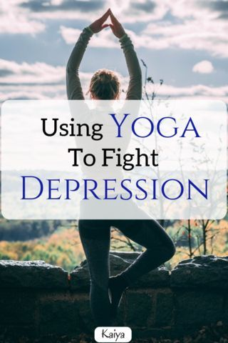 Yoga can be a great tool to fight against depression and anxiety, and to improve...