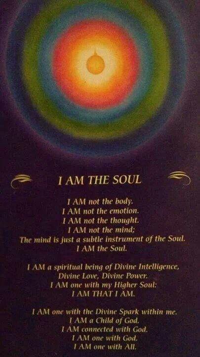 I am the Soul....
