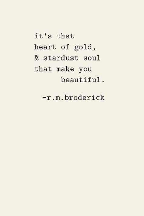Stardust soul…