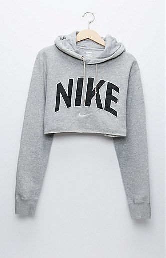 A PacSun.com Online Exclusive! The women's Nike Gray Pullover;Hoodie by Retro Go...