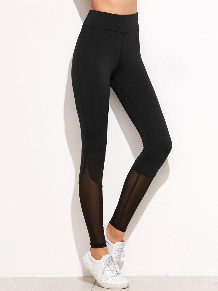 Athleisure was never this cool! www.zapyle.com #leggings #blackleggings #athleis...