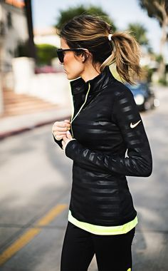 Black and neon Nike gear