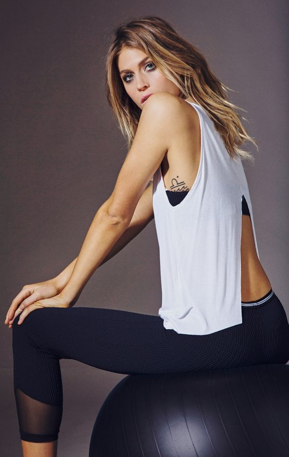Blue Life Fit Open Back Tank - California Yoga and Active Wear: #fitness #appare...