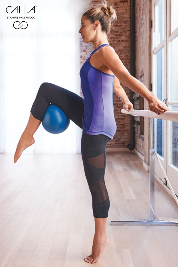 CALIA by Carrie Underwood Mesh Pieced Capris are soft, supportive and stylish, f...