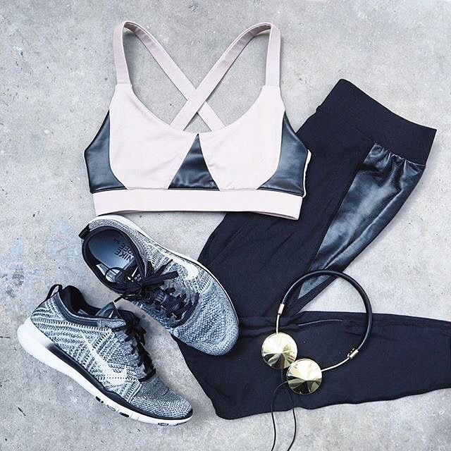 Chic workout gear. // Follow ShopStyle on Instagram to shop this look
