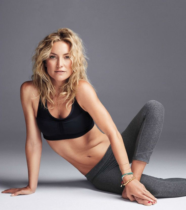 7385c65c5c Yoga Clothes : Co-Founder Kate Hudson in her Fabletics for Shape Magazine