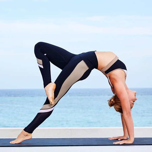 Get to know our new Elevate Legging, available in 3 new colorways. #aloyoga #bea...