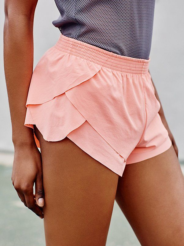 Go With The Flow Short | Hit the ground running in these breezy activewear short...