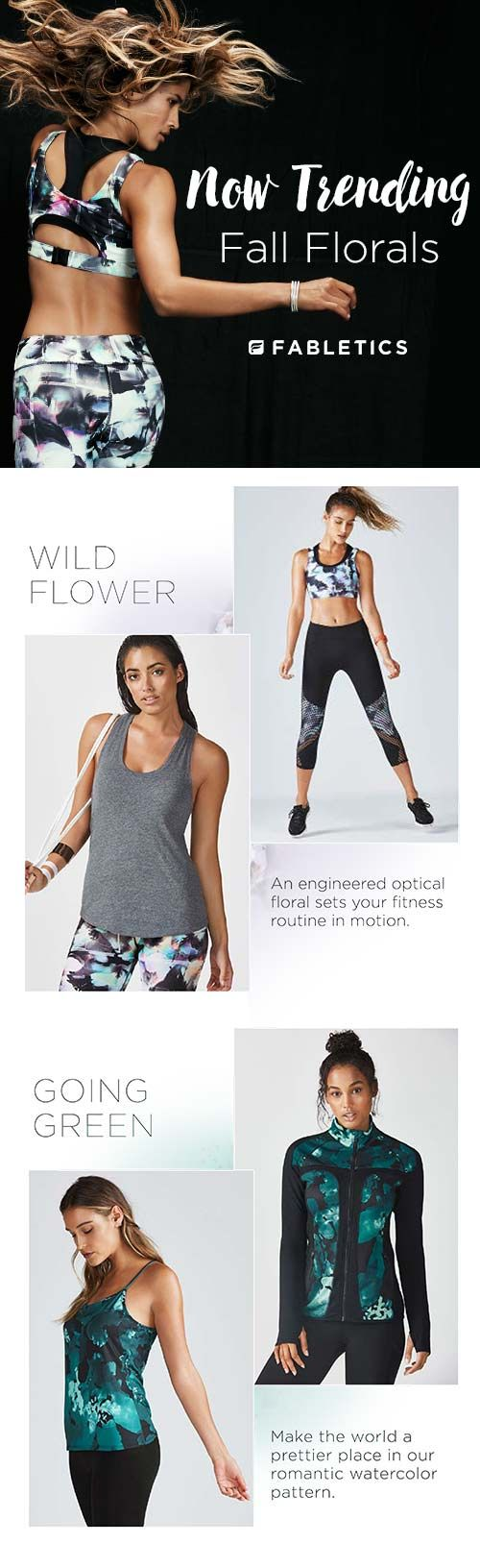 Now trending: Fall Florals. Discover Fabletics by Kate Hudson as we explore fall...
