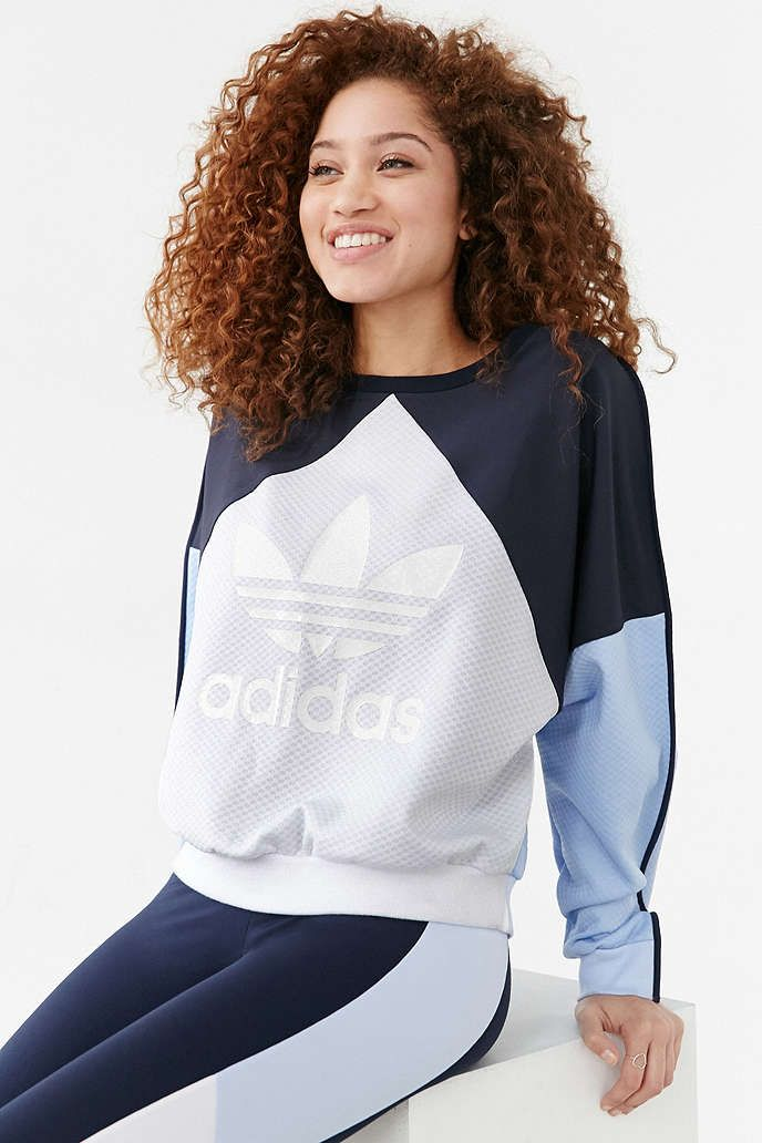 adidas Originals Helsinki Crew-Neck Sweatshirt - Urban Outfitters