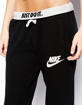 nike sweatpants. I have these and I absolutely love them! I'm wearing them n...