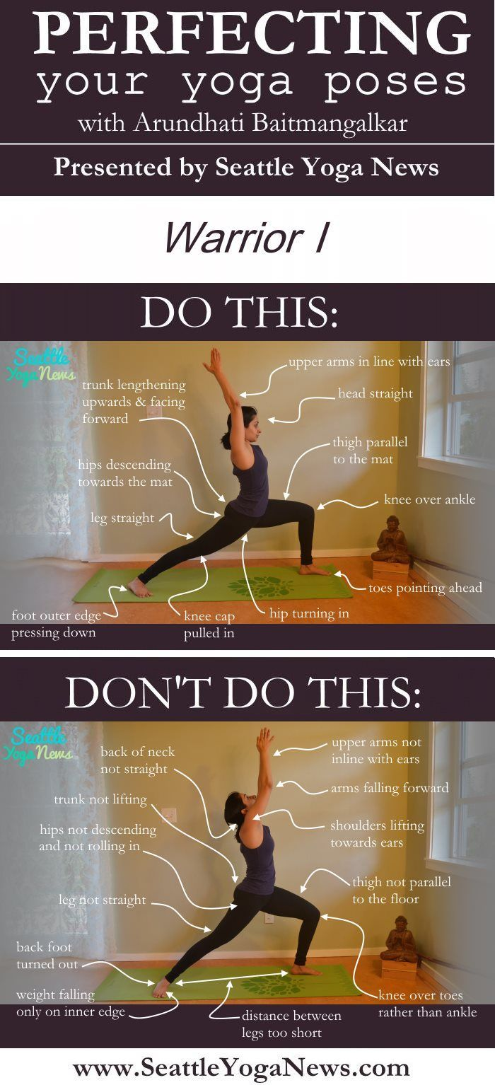 Are you looking to perfect your Warrior 1 yoga pose (Virabhadrasana 1)? Follow t...