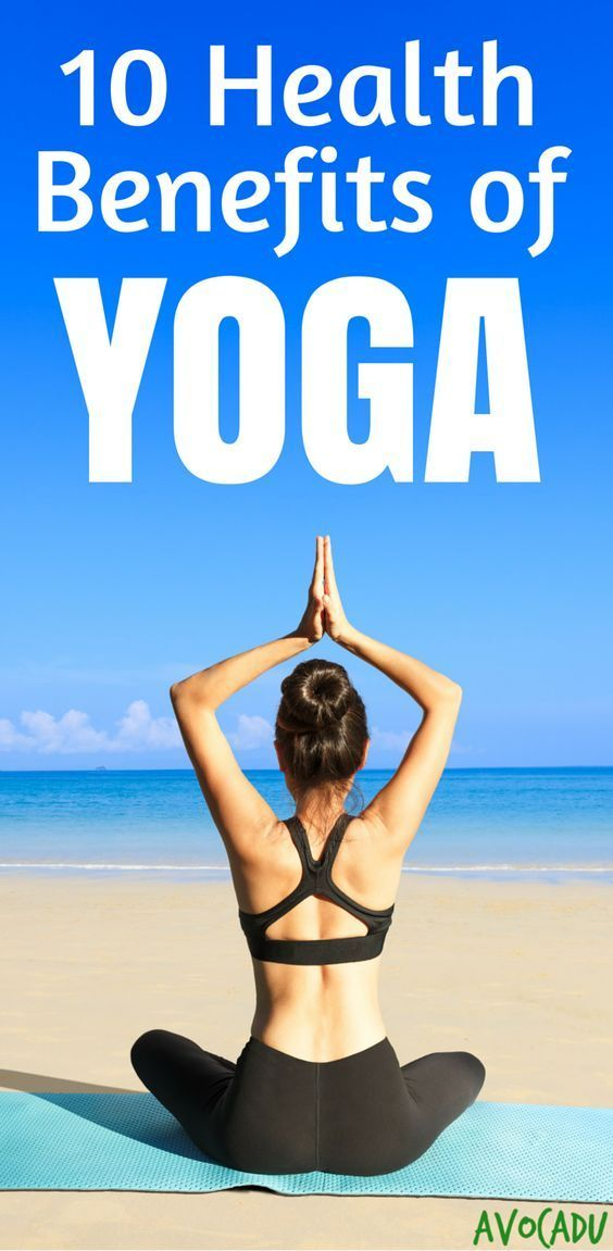 The health benefits of yoga include everything from relieving stress to healing ...
