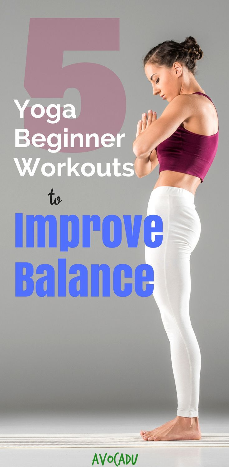 Balance is often overlooked for flexibility and weight loss. These yoga workouts...