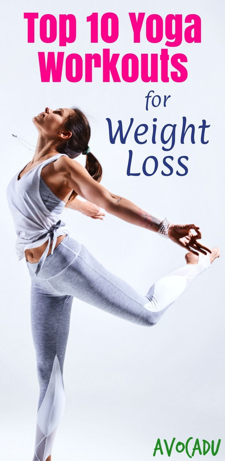 Lose weight with these top 10 yoga workout videos | Yoga workouts for weight los...