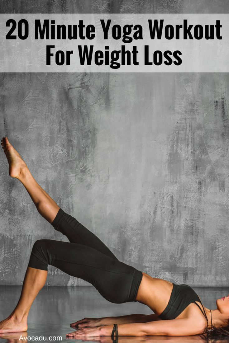 20-Minute Yoga Workout for Weight Loss | Yoga for Weight Loss | Yoga to Lose Wei...