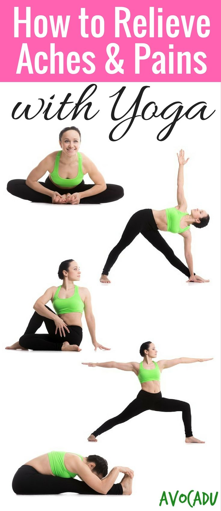 Relieve aches and pains with this yoga workout for beginners and also increase f...
