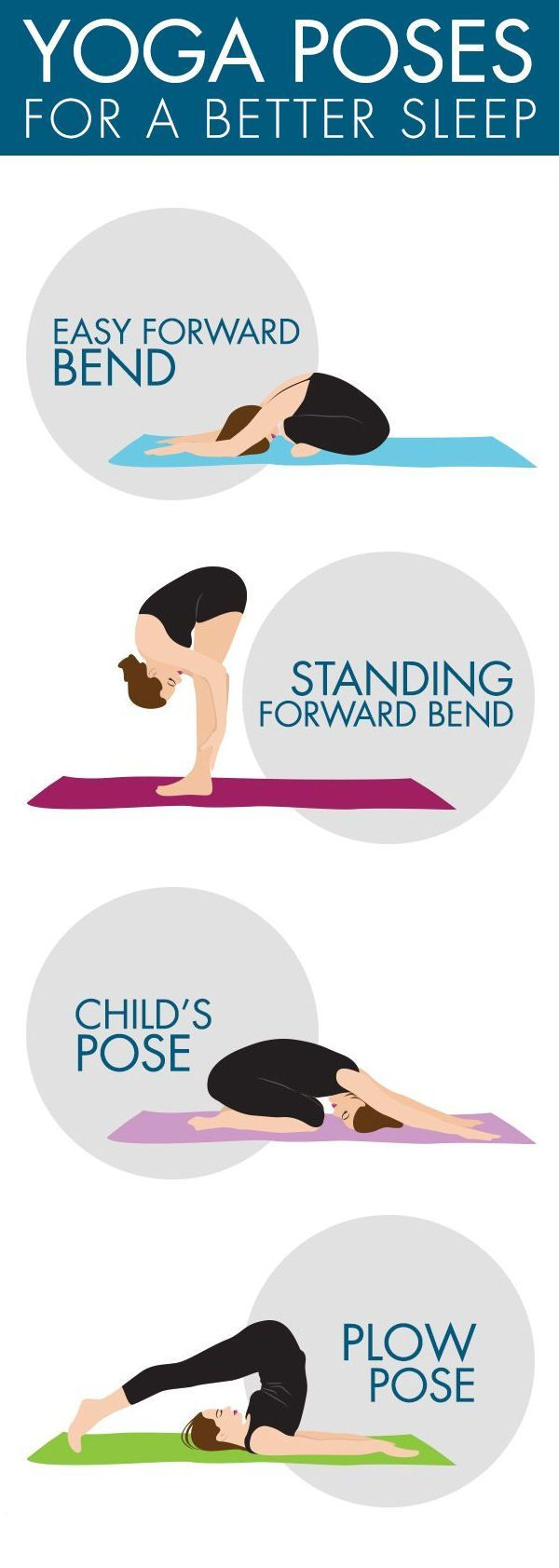 Have trouble falling asleep? 4 simple yoga poses to help you sleep turn off your...