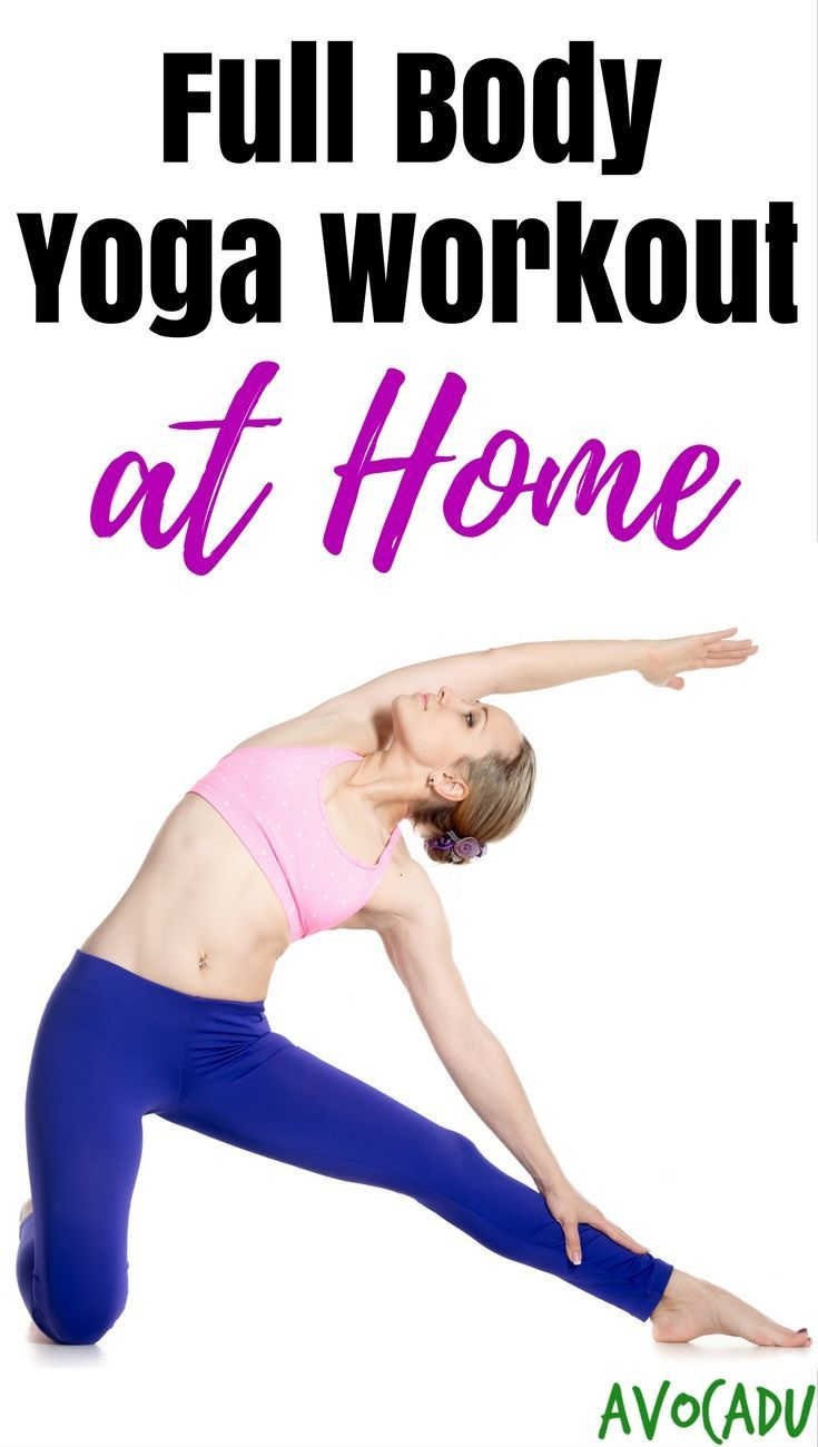 Full-Body Yoga Workout | At-Home Yoga Workout for Beginners | Yoga Poses for Beg...