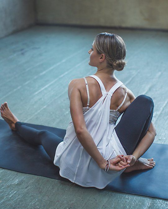 Bind #yoga mmm so good on shoulders and chest