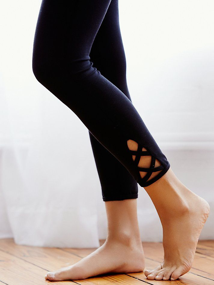 Lotus Legging | Ideal for dance, running, and all your studio workouts, these lu...